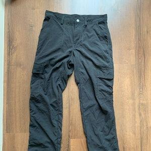 Patagonia Pants Size 30 Hiking Black Pockets